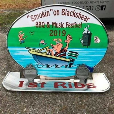 Smokin on Blackshear BBQ & Music Festival - 2019 - 1st Place in Ribs