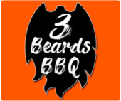 3 Beards BBQ Logo