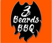 3 Beards BBQ Logo