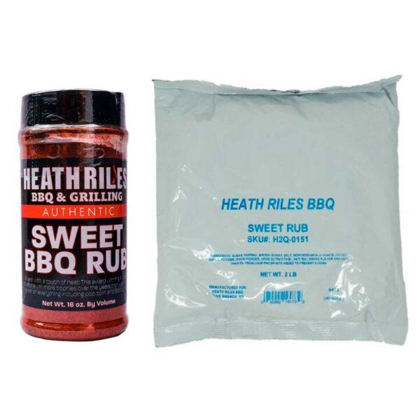 Sweet BBQ Rub Combo - Shaker and Bag
