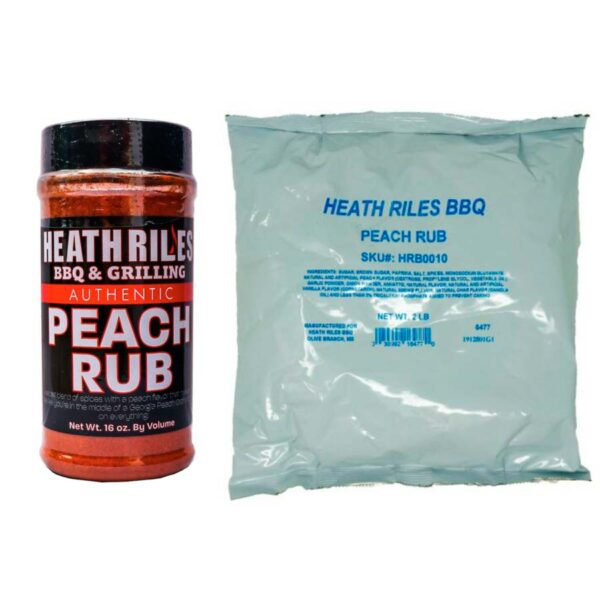 Peach Rub Combo