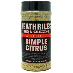 Simple Citrus Rub Shaker