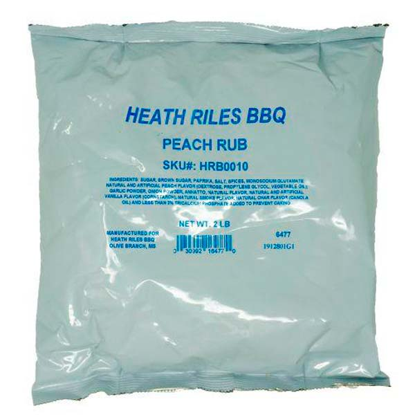 Peach Rub 2lb Bag